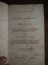 1839 TRAVELS IN NORTH AMERICA 1834 1836 PAWNEES - MURRAY - VOL I INDIANS AZORE