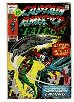 Captain America and the Falcon #142, FN 6.0, Nick Fury