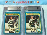1979 Topps #175 GORDIE HOWE | Whalers | Red Wings | BVG 8.5 NM-MT+ | 4 Scarcer