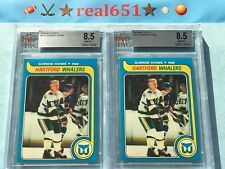 1979 Topps #175 GORDIE HOWE | Whalers | Red Wings | BVG 8.5 NM-MT+ | 4 Scarcer