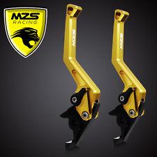 MZS Brake Clutch Levers For Honda CBR600RR 2003-2006/CBR954RR 2002-2003 Gold
