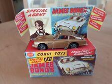 Vintage Corgi Toys 261-James Bond Aston Martin DB5