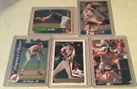 JIM THOME INDIANS 5 CARD LOT 93 TOPPS GOLD 92 SCORE IMPACT INSERT DONRUSS S CLUB