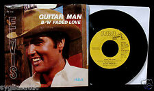 ELVIS PRESLEY-Guitar Man-Picture Sleeve & Promotional 45-RCA VICTOR #PB 12158