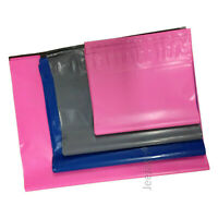 50 MIXED SIZE PINK BLUE GREY POSTAL MAILING MAIL BAGS POLY MAILER BAGS CHEAPEST