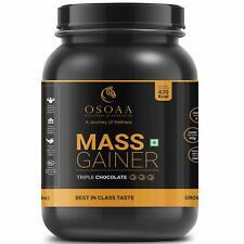 Osoaa Premium Mass Gainer Protein Powder Supplement - 420 Calorie (1 KG)