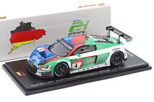 Audi R8 LMS GT3 #4 Winner 24h Nürburgring 2019 Dirty Version 1:43 Spark