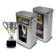 WEST COAST EAGLES 2018 AFL PREMIERS PREMIERSHIP CUP IN COLLECTORS TIN YEO SHUEY