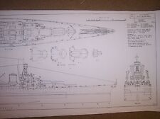 BATTLECRUISER UNITED STATES ship boat model boat plans