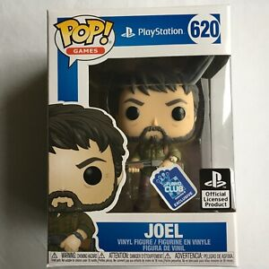 "The Last of Us TLOU Joel Funko Pop! Vinyl Figure Playstation Collector ""NEW"""