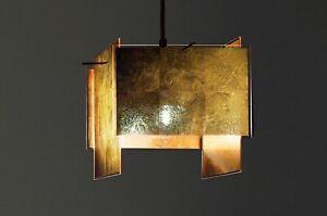 Ingo Maurer / 24 Karat Blau Suspension Lamp - EXCEPTIONALLY RARE BLACK FINISH