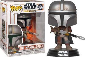 Funko Pop! Star Wars: Mandalorian - The Mandalorian, Vinyl Figure #345 42062 NEW