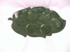 Vintage Collectable ~ Carlton Ware Leaf Shape Cruet Set ~ Cruet Plate Only!!!