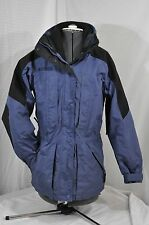 Womens Columbia Winter Ski Coat Violet Size small Double Whammy armpit vents!