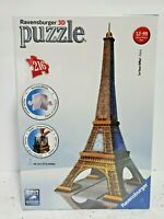 🧩NEW! Ravensburger 3D Puzzle🗼Eiffel Tower•216 Pieces•La Tour Paris•Ages 12+