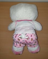 Build A Bear Workshop - White Hello Kitty With Bow & Clothes
