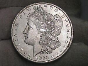 BU 1885-o Morgan Dollar White. #31