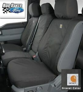 11-16 SUPER DUTY Carhartt Seat Covers Gravel 40-20-40 Front Seat Water-Repellent