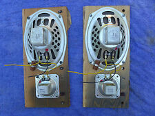 "Jensen speakers pair of 69J11 6"" X 9"" and 2"""