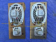 """Jensen speakers pair of 69J11 6"""" X 9"""" and  P35 VAH 3.5"""" Tweeters"""