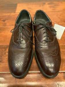 Red Wing Shoes Men's Brown Wingtip Dress Shoes, Size 8.5