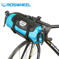 Waterproof Cycling Bike Bicycle Handlebar Front Frame Tube Dry Bag Pannier Pouch