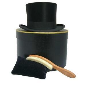 Brush and Polish for Silk Top Hats & Fur Felt Top Hats for Ascot Royal Enclosure