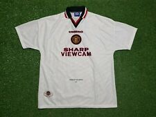 Manchester United Maillot XL 1996 1997 Umbro T-Shirt 96/97 Viewcam Bas