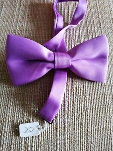 Light Mauve Bow Tie (20)
