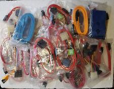 30+ Serial ATA (SATA) Data & Power Cables for Hard Disk Drives