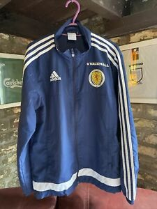 Adidas Scotland Windbreaker Track Tracksuit Jacket Small S