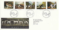 8 JANUARY 1991 DOGS CRUFTS ANNIVERSARY ROYAL MAIL FIRST DAY COVER BUREAU SHS (x)