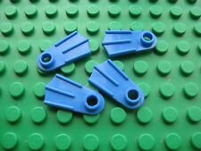Lego FLIPPERS Minifigure Accessory Lot 4 pcs -Blue- Town City Swimming Aquazone