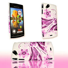 Design Strass 2 Hard Case Back Cover Schale für Sony Ericsson Xperia Arc - Arc S
