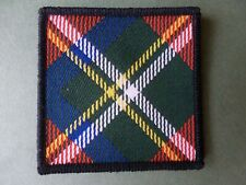 Royal Scots Pipers cloth badge