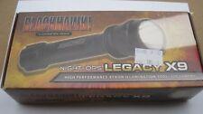Blackhawk Night-Ops Legacy X9 Black 75FL002BK Xenon Flashlight Aircraft Aluminum
