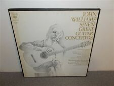 * John Williams ‎. Seven Great Guitar Concertos . 3  LP Box Set  Near Mint
