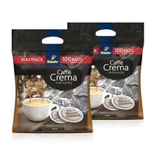 (35,87€/1kg) Tchibo Kaffeepads 2 x 100 Pads Crema vollmundig, Kaffee fürs Büro