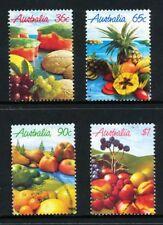 Australian 1987 Fruit in Australia, set of 4, used