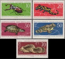 EBS East Germany DDR 1963 Protected Animals (II) Michel 978-982 MNH**