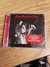 Live in Japan, 1967 by Peter, Paul and Mary (CD, Dec-2012, 2 Discs, Rhino d4c