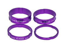 "A2Z Alloy Headset Spacers AD-181 4 Pack - 1 1/8"" - Purple"