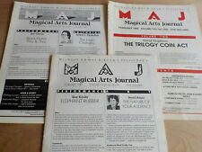 3 Issues of Magical Arts Journal Regal