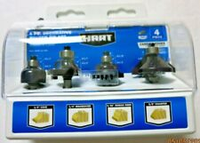 Hart 4 PC. Decorative Router Bit Set