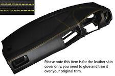 YELLOW STITCH DASH DASHBOARD SKIN COVER FITS VW GOLF MK4 4 IV BORA JETTA 98-05