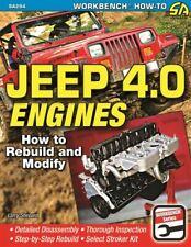 Jeep 4.0 How To Rebuild Modify Engines Book Shop Manual Service Repair Shepard
