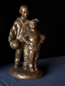 """""""""""Big Brother""""  Ecila Sculpture by Austin - Hand Painted by artist"""