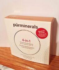 "Pur Minerals 4-in-1 Pressed Mineral Foundation SPF 15 ""Porcelain"" FS NIB!"