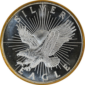1 oz Silver Round Sunshine Minting Classic Design Eagle .999 Fine