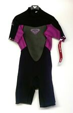 ROXY Women's 2/2 SYNCRO BZ S/S Spring Suit - PUR - Size 10 - NWT